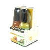 Blair's Q Heat Mini Exotic Hot Sauce 4 Pack, 4x2oz